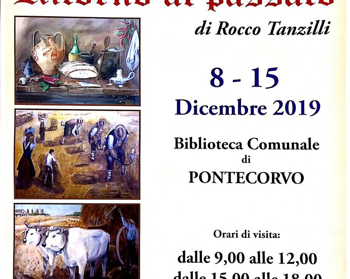Pontecorvo, Mostra di pittura storica 2