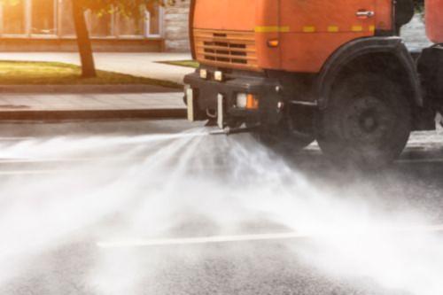 Frosinone, Al via la sanificazione stradale per l'emergenza sanitaria 1
