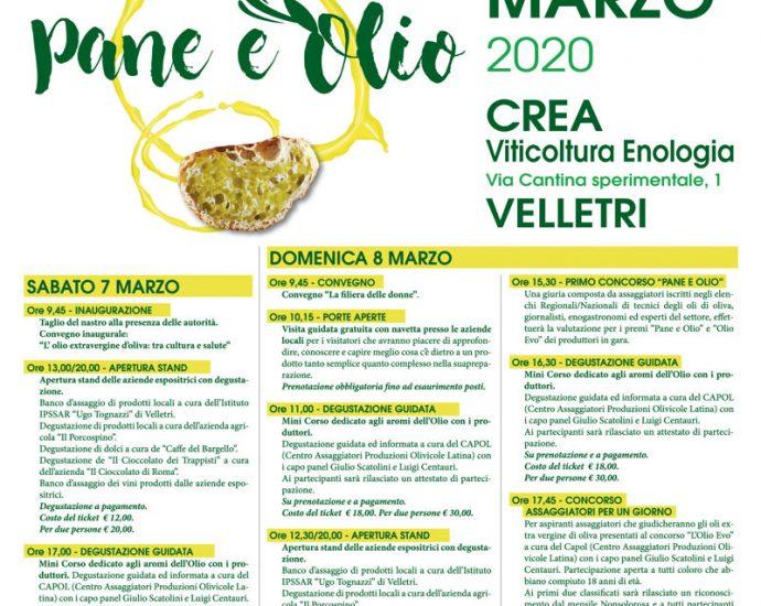 """Velletri, """"Pane e olio"""": un appuntamento all'insegna della riscoperta della qualità dei prodotti del territorio 5"""